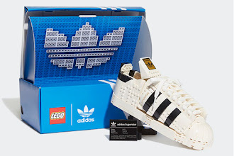 adidas Originals and the LEGO Group Launched the Collaborative LEGO® adidas Originals Superstar 10282