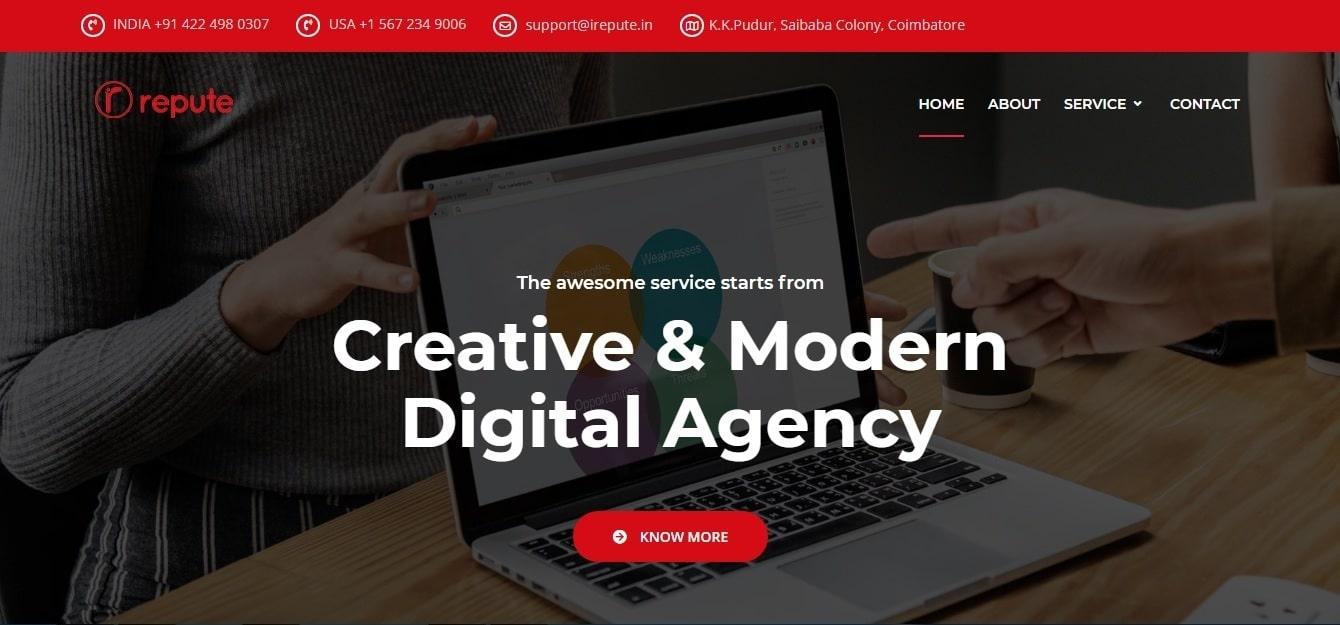 IRepute - Digital Marketing Company