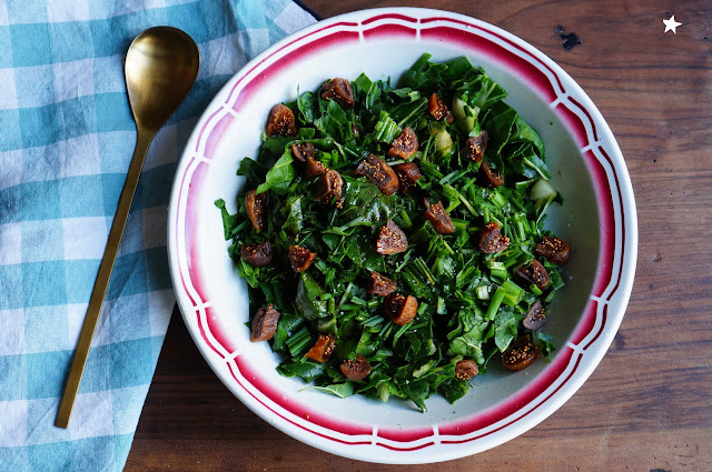 salade blettes crues rawfood