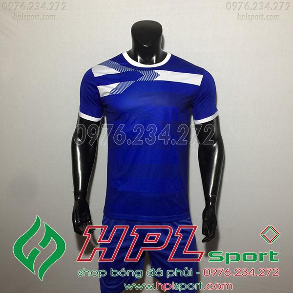 Áo bóng đá không logo F50 Adi màu xanh đậm