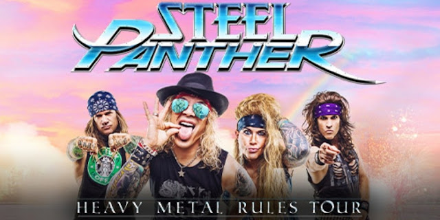 Steel Panther - Heavy Metal Rules Tour  #PMRC PunkMetalRap.com