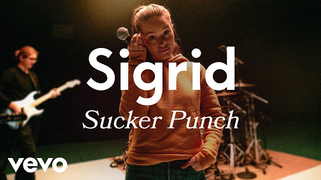 Sigrid Performs 'Sucker Punch' On Vevo LIFT