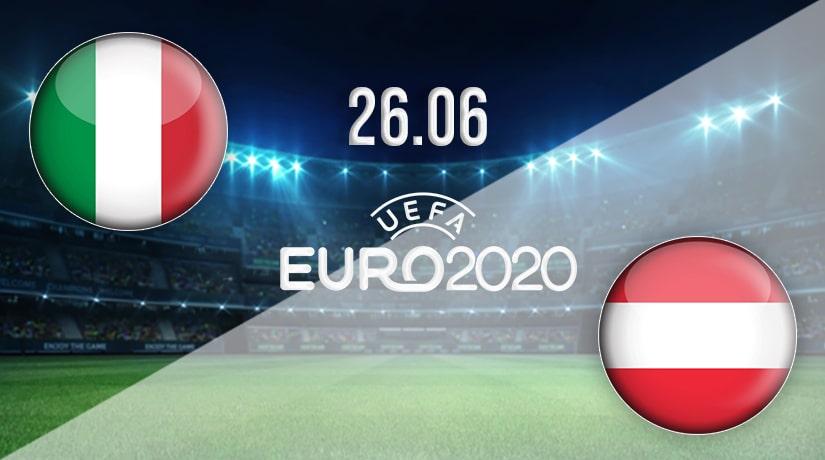 بث مباشر مباراة ايطاليا والنمسا