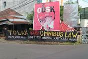Tolak Omnibus Law KMPA Tunas Hijau Gelar Aksi Spontan