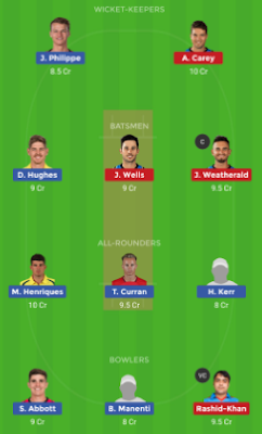 STR vs SIX dream 11 team | SIX vs STR