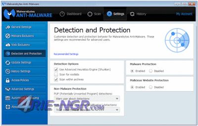 Malwarebytes Anti-Malware Corporate 1.80.0.1011 Full Terbaru