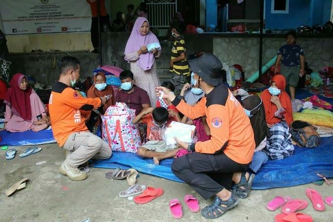 Peran Senkom Rescue Pasca Gempa Sulawesi Barat