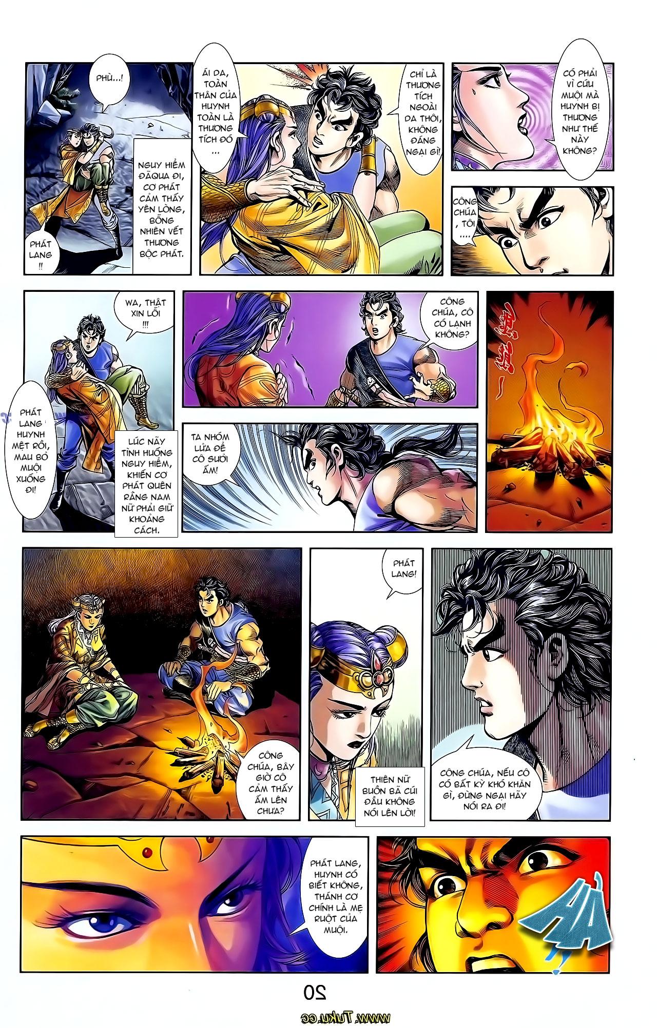 Cơ Phát Khai Chu Bản chapter 129 trang 17