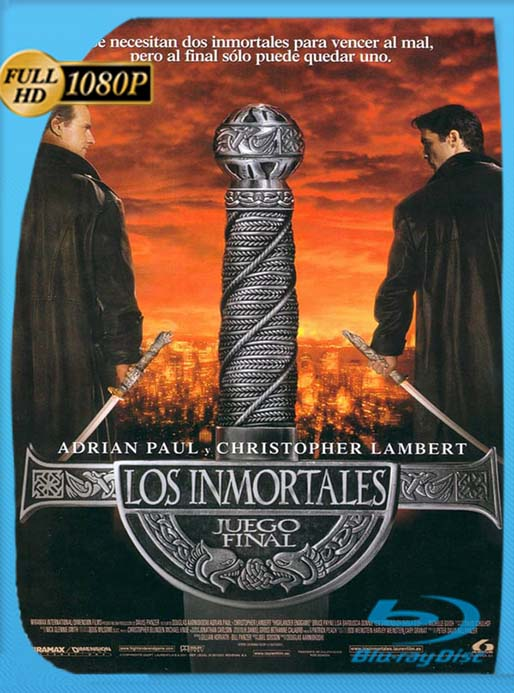 Highlander 4 Endgame (Los inmortales: Juego final) 2000 1080p Latino ReDoblaje [Producer's Cut] [GoogleDrive] [tomyly]