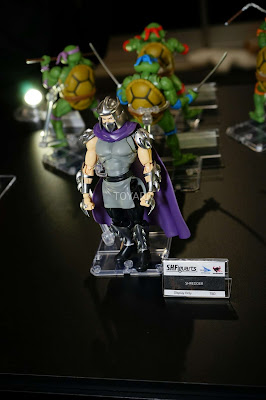 S.H.Figuarts TMNT Shredder NY Toy Fair 2017