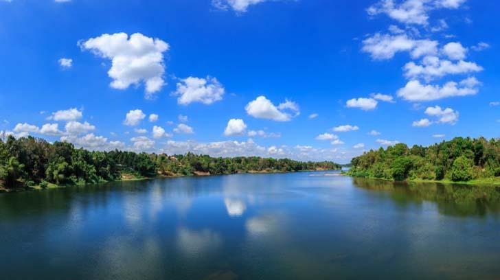 Periyar River; Kerala, India
