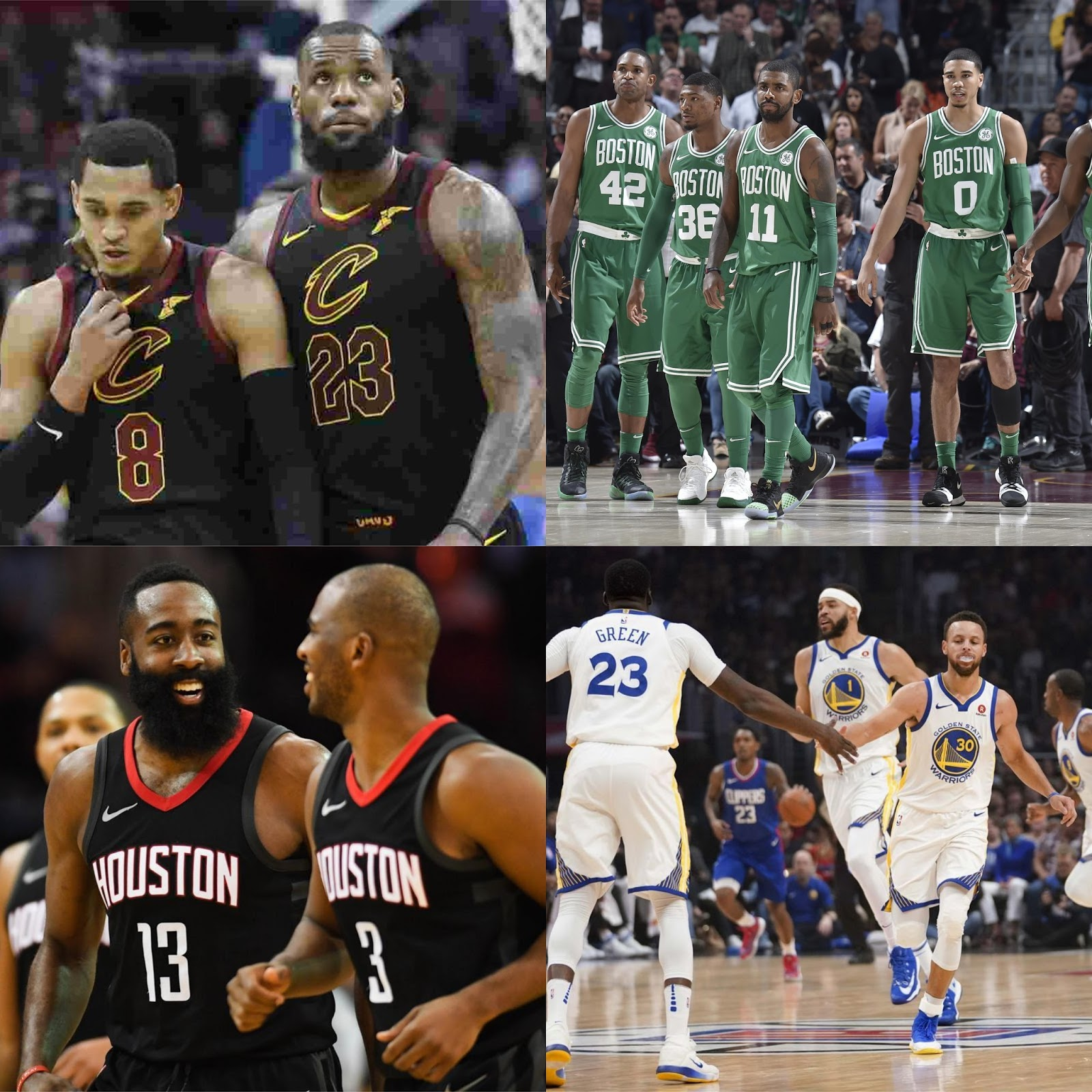 DAR Sports: The NBA East And West Playoff Picture