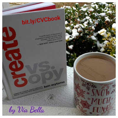 Create VS Copy, book review, Ken wytsma, being creative, self help, philosophy, christian living, practical life, business and leadership, via bella, moody publishers