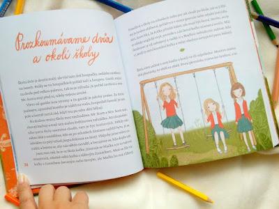 Báječná škola pana Scotta (Miroslava Salajková, ilustrace Ivona Knechtlová, nakladatelství Kazda), ukázka