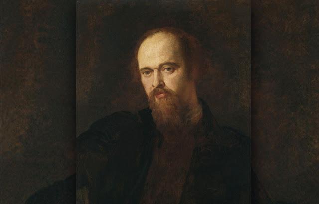 Dante Gabriel Rossetti. Retrato de George Frederic Watts