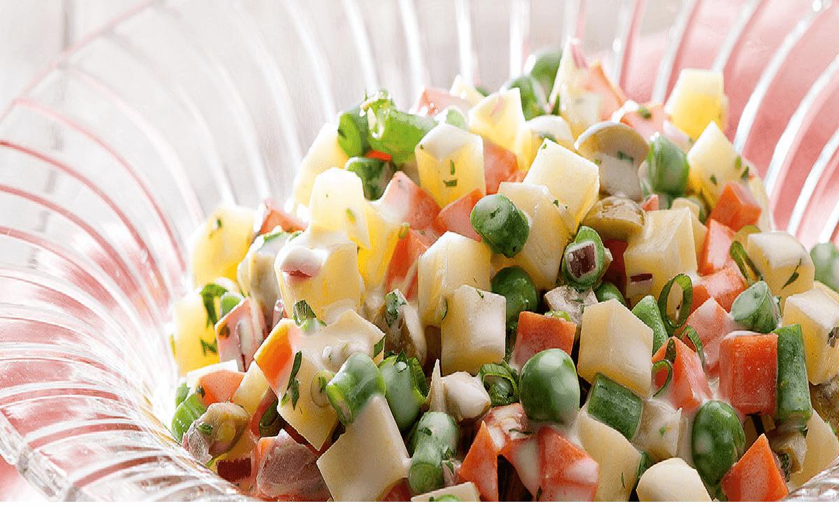 Salada de vegetais