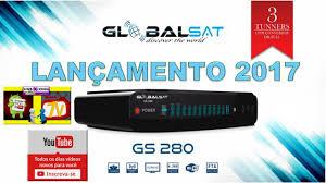 ATUALIZAÇÃO GLOBALSAT GS 280 HD V1.96 - 19/07/2018
