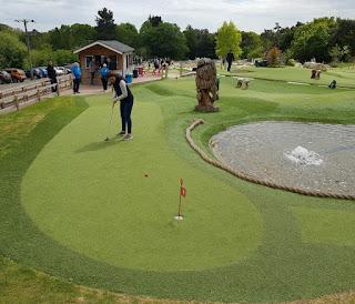 New Forest Adventure Golf at Lymington Golf Centre