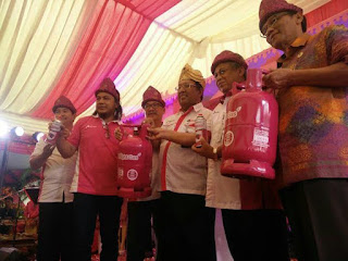 Sumsel Pertama launching Bright Gas 5,5 Kilogram