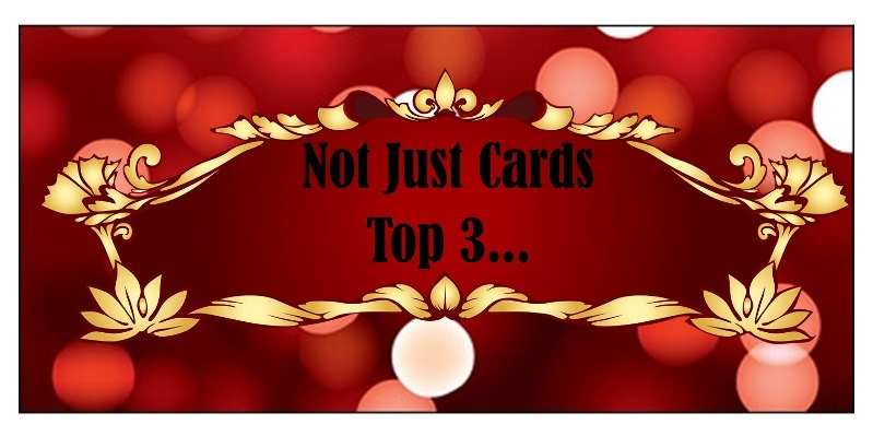 Top 3 - Not Just Cards Challenge Blog