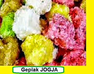 Typical snacks Jogjakarta
