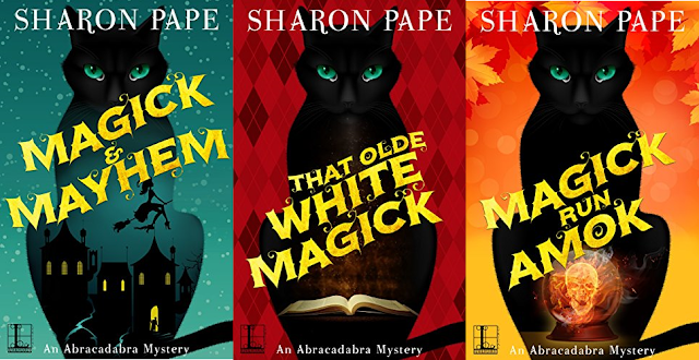 An Abracadabra Mystery by Sharon Pape