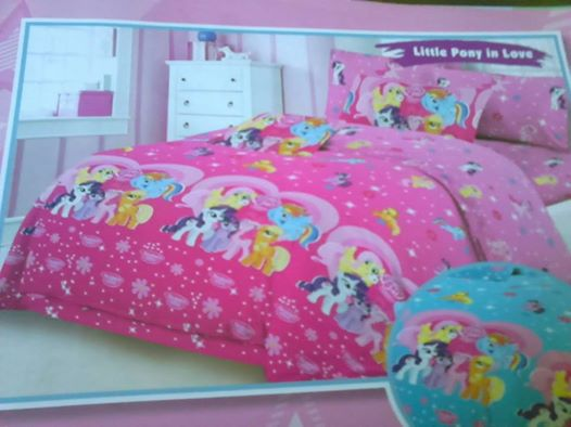 Sprei Little Pony In Love No.1 murah