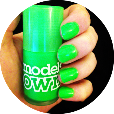 Model's Own Neon Ice in Toxic Apple
