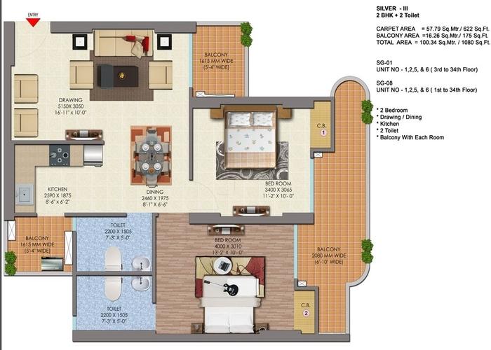 1080 sq.-ft.-2bhk-in-Saya-Gold-Avenue