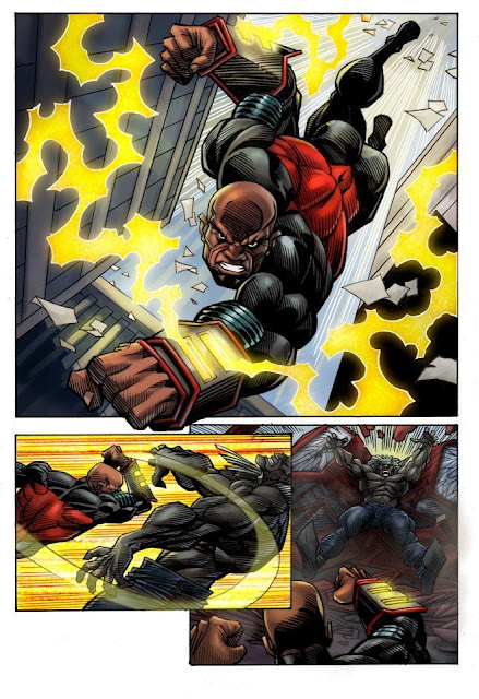 Darkstorm Comic Book 1
