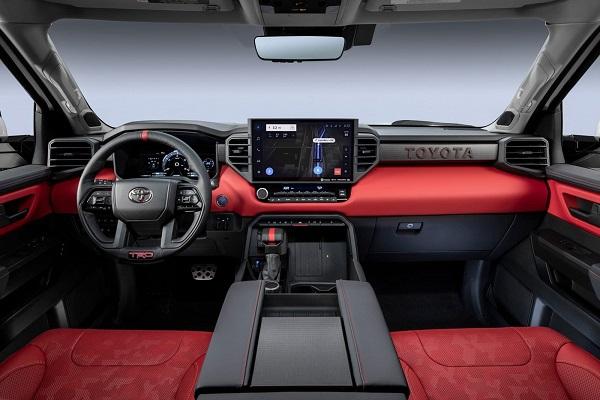 Interior Toyota Tundra TRD Pro 2022