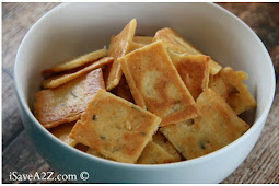 Low Carb Cheese Crackers Recipe (Keto Friendly)