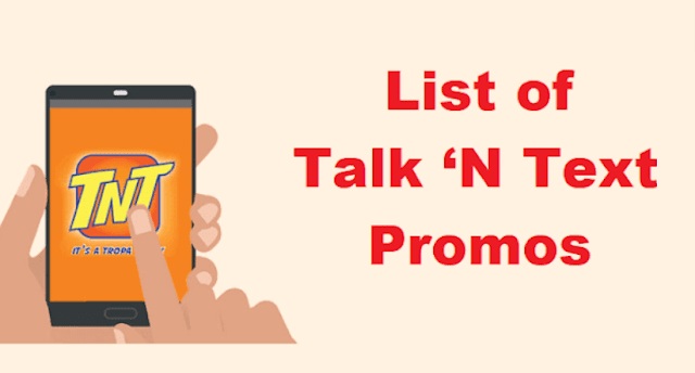 List of TNT Promos