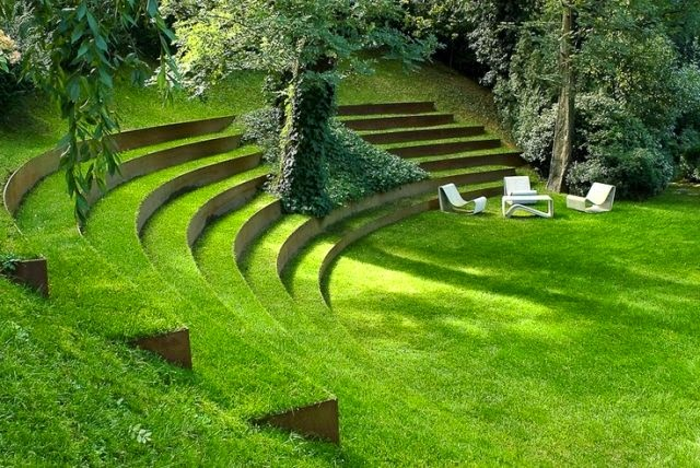Design Green Landscapes: How To Build A Garden Stairs Design As A Decorative Element?