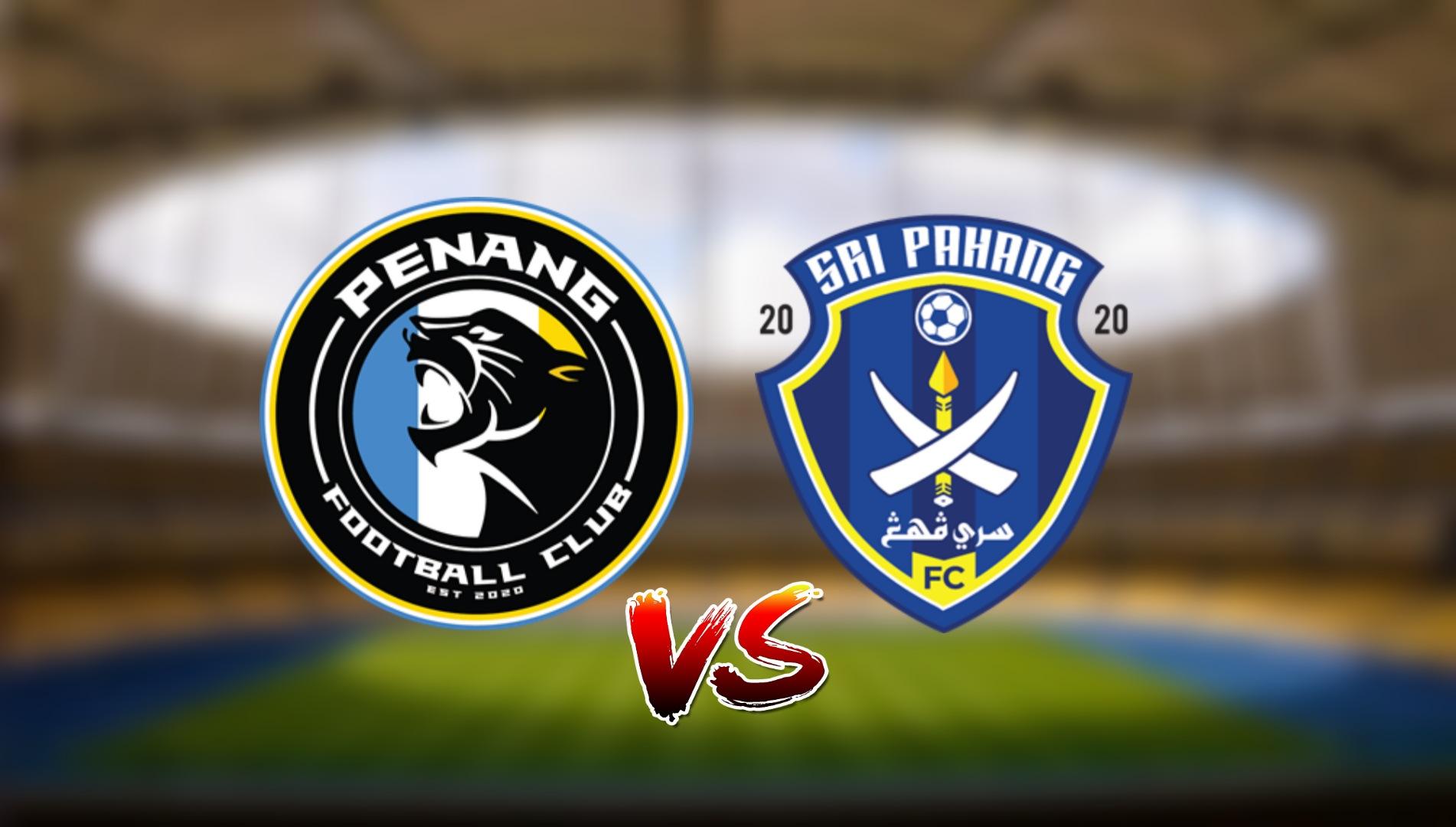 Live Streaming Penang FC vs Sri Pahang FC Liga Super 24.4.2021