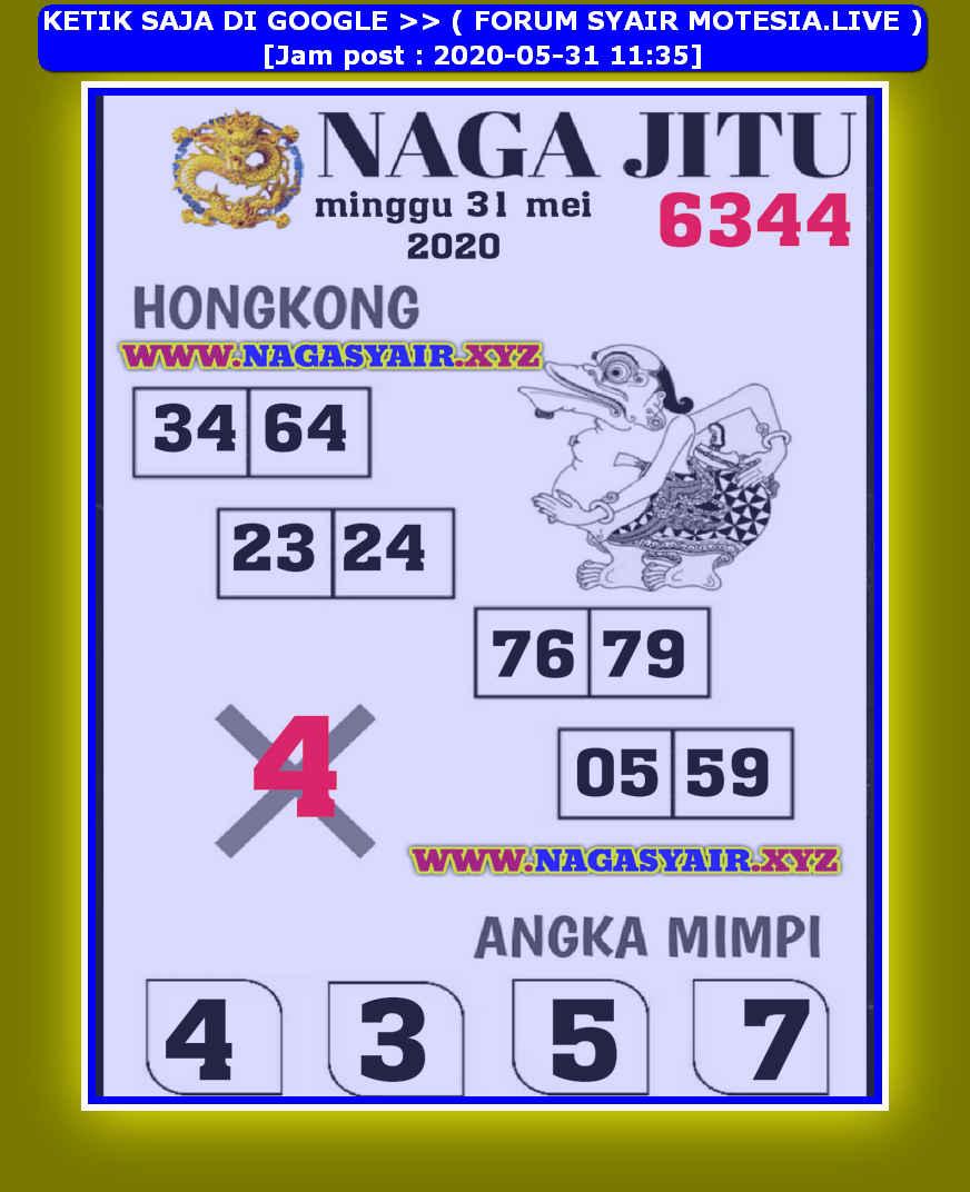 Kode syair Hongkong Minggu 31 Mei 2020 149
