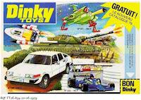 Publicité Dinky Toys 1979, réf: TT-20