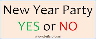 Harus Merayakan Tahun Baru atau Tidak
