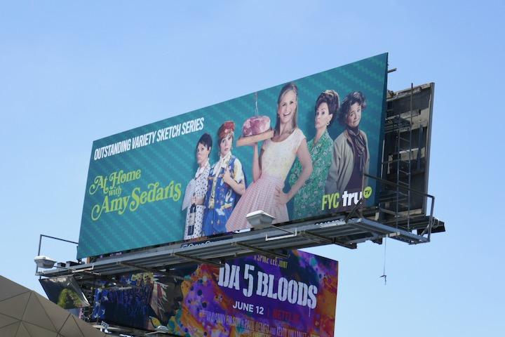 At Home Amy Sedaris 2020 Emmy FYC billboard
