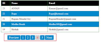 PHP MySQL Simple Pagination