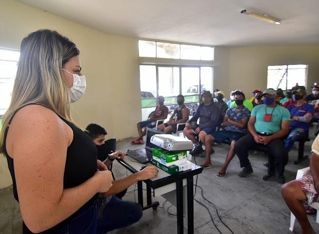 Ceaca promove treinamento sobre manipulação de alimentos