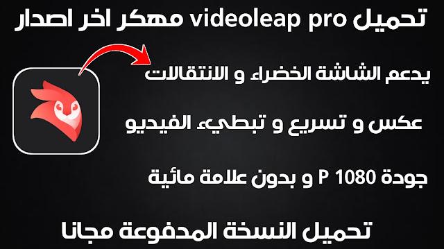تحميل videoleap pro مهكر للاندرويد من ميديا فاير مجانا