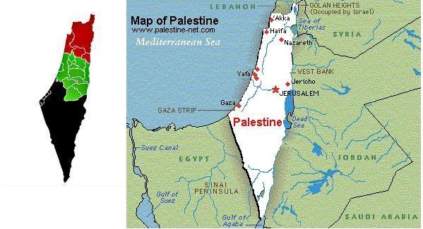 Cartina Israele E Palestina.Israele Scompare Dalla Mappa Diplomatici Palestinesi
