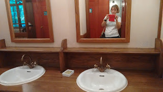 Foto aseo museo Gibli - zona lavabos