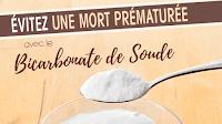 Bicarbonate de soude et risque de mort prématurée