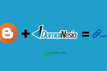 Cara Custom Domain Blogspot atau Blogger dengan Domainesia