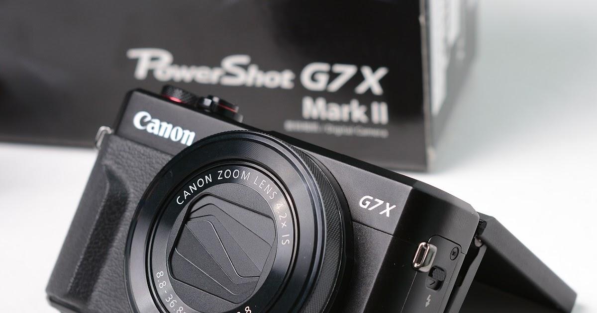 Jual Canon G7X Mark II | Jual Beli Laptop Second dan