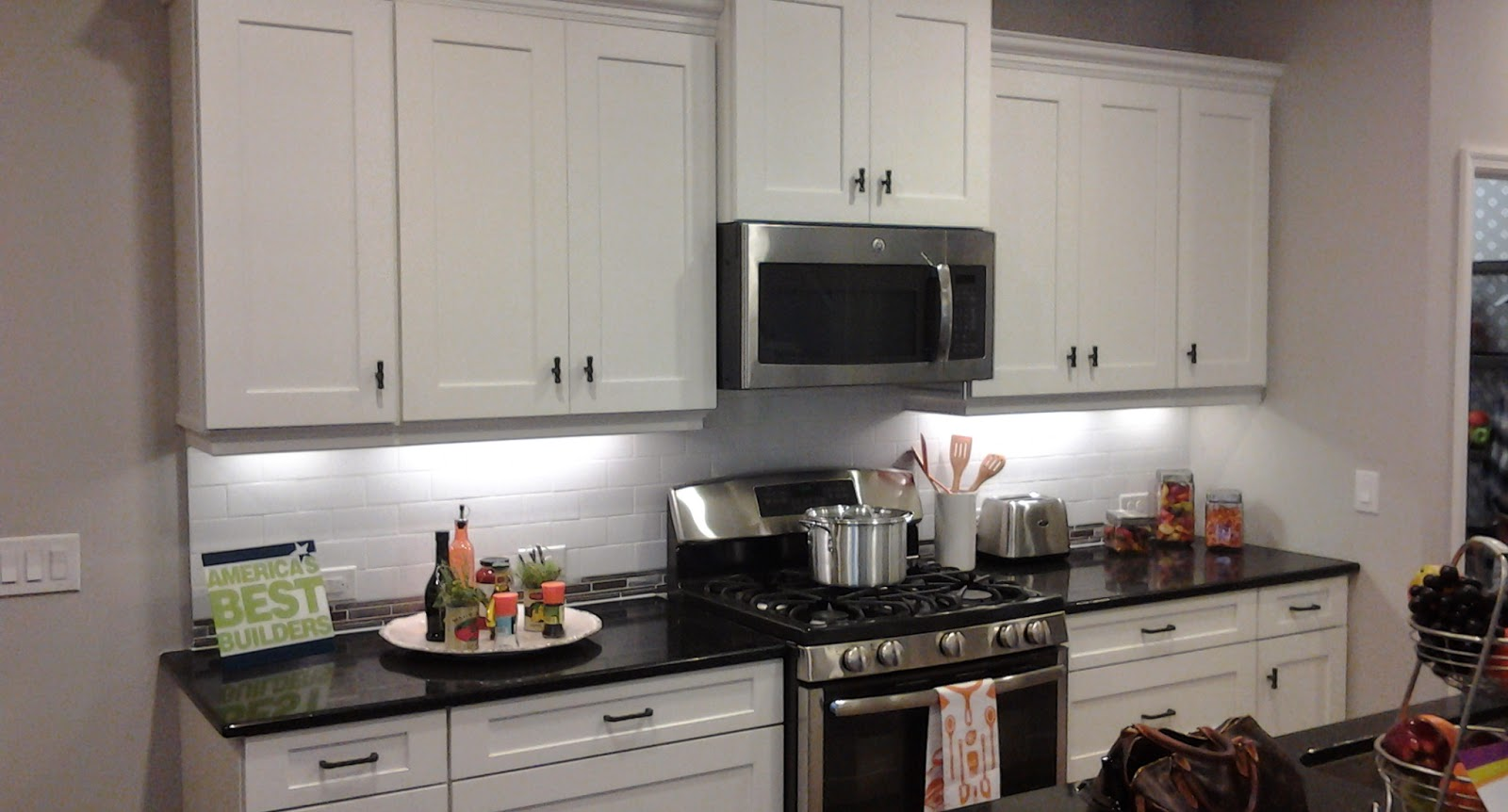 See the Ovation model home kitchen in Venice FL