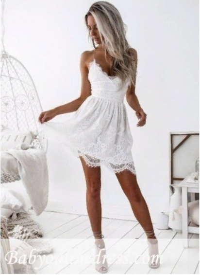 Babyonlinedress.com - White homecoming dresses