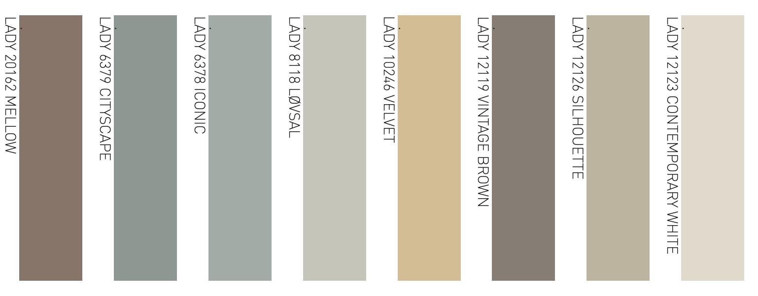 Palette pastelli onirici